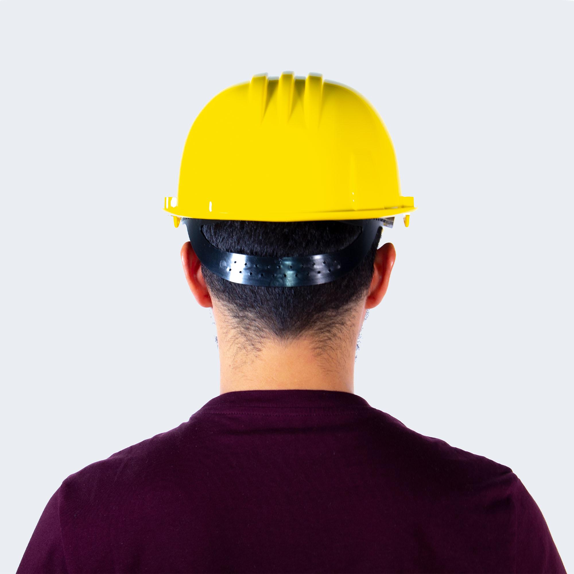 casco mundial amarillo