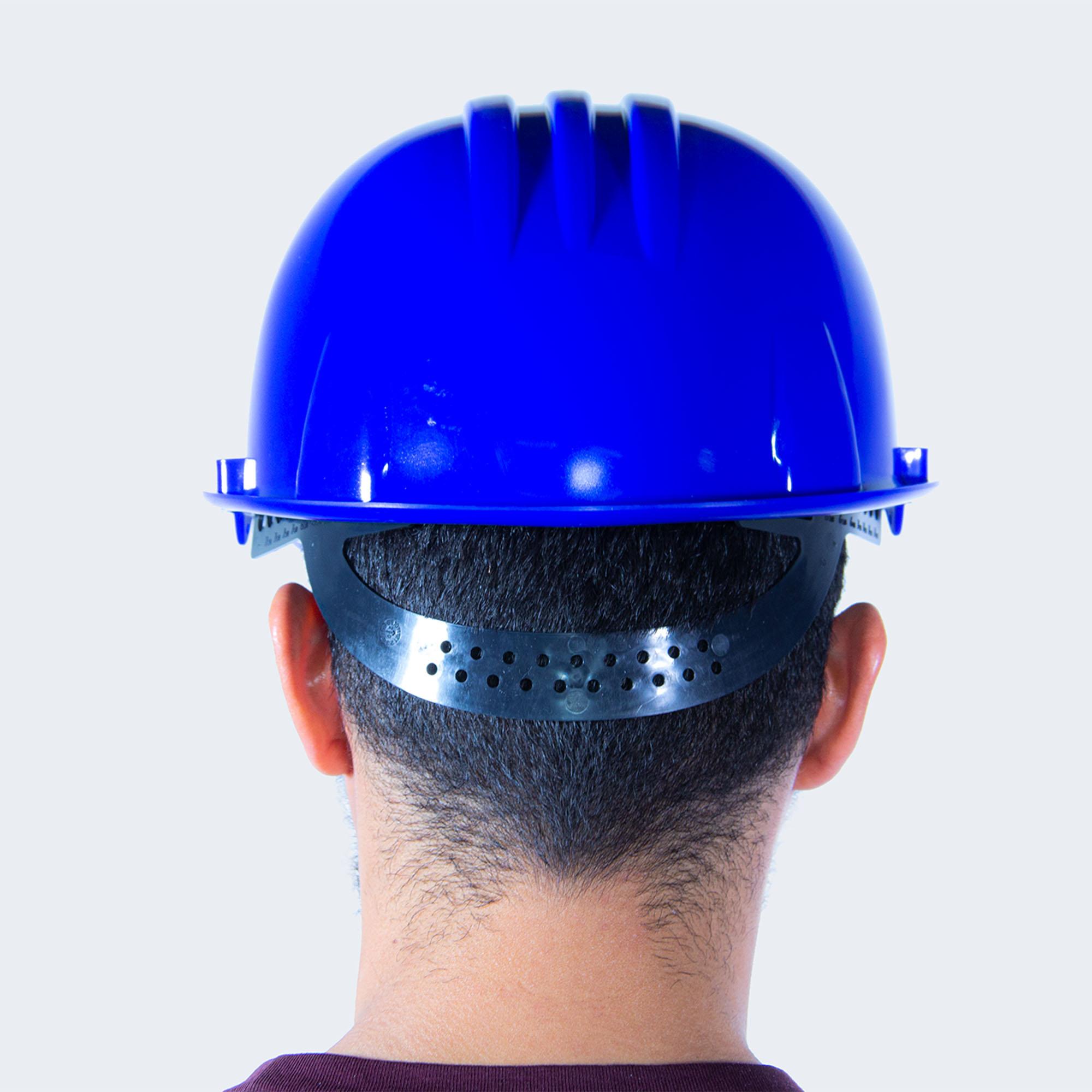 casco mundial azul back