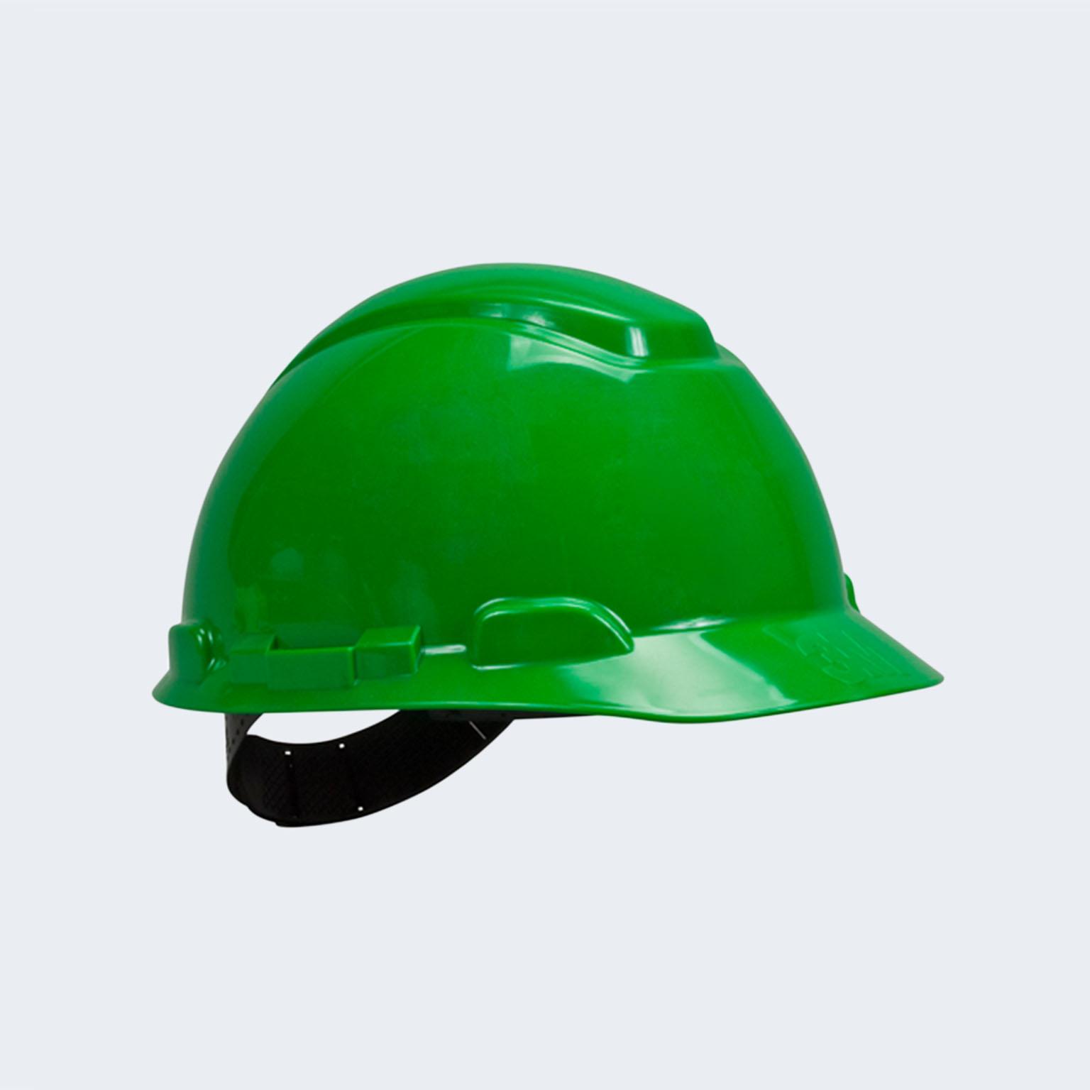 Casco 3M verde priosa